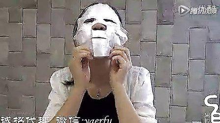 温碧霞代言oldefy/欧蒂芙奇迹面膜的正确使用方法 防止大眼睛大鼻子