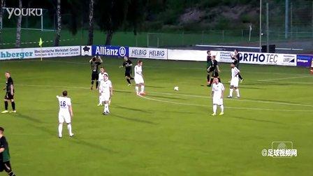搞笑!德国低级别联赛后卫门前转身解围造就搞