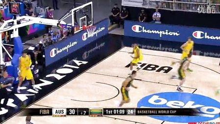 2014世界男篮锦标赛澳大利亚vs立陶宛全场比