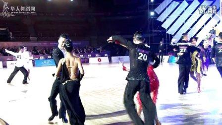 2014年中国体育舞蹈公开赛(武汉站)职业组缅甸万丰国际老百胜决赛桑巴
