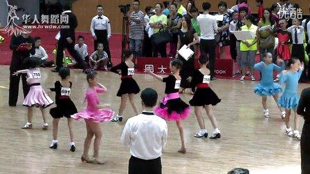 2014年CBDF中国杯国际标准舞巡回赛(泉州站)业余10岁以下女单B组缅甸万丰国际老百胜半决赛恰恰