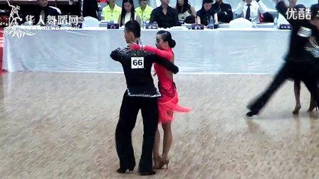 2014年CBDF中国杯国际标准舞巡回赛(泉州站)甲B组L决赛斗牛姜均 沈丽达