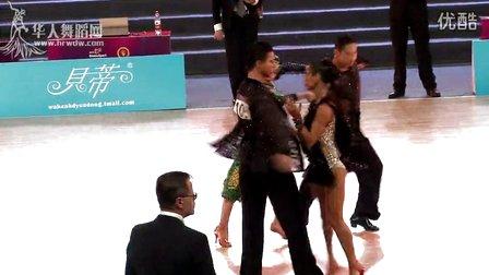 【VIP】2014年WDSF世界体育舞蹈大奖赛(中国武汉)L第一轮斗牛李钊 王翠宇