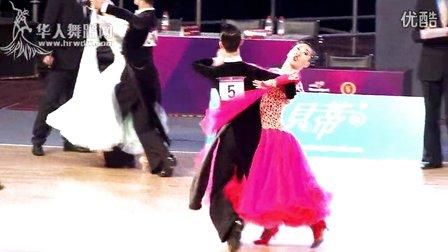 2014年全国城市体育舞蹈公开赛(武汉)21岁以下A组S半决赛探戈万安达 郭婉琪