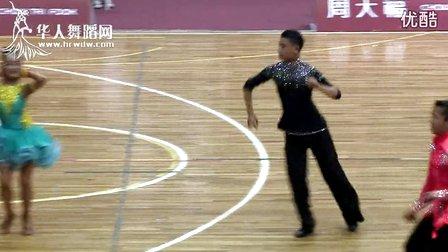 2014年CBDF中国杯巡回赛(郑州站)专业14岁以下组L决赛牛仔容凯文 黄钰涵