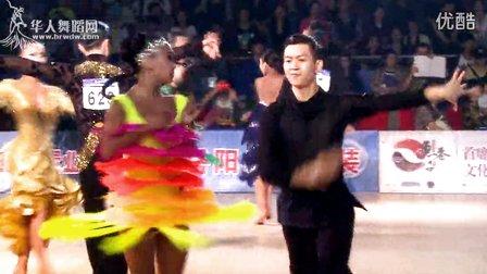 2014年中国体育舞蹈公开赛岳阳站A组拉丁复赛1桑巴侯垚 庄婷