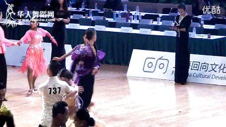 2014年CBDF第二十八届全国锦标赛甲B组L第四轮斗牛刘文浩 王美琪