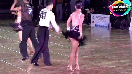 2014年WDSF世界体育舞蹈锦标赛缅甸万丰国际老百胜第一轮牛仔Fu - Li