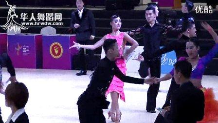 2014年第24届全国体育舞蹈锦标赛十项全能B组L预赛恰恰【VIP】王杨 王琦
