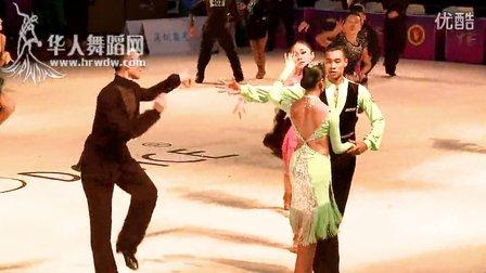 2014年第24届全国体育舞蹈锦标赛B组L半决赛牛仔王琦 余亦婷