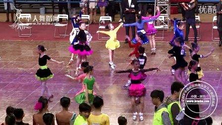 2014年CBDF中国杯巡回赛总决赛业余10岁以下女单A组L第三轮恰恰1