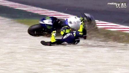 2014年摩托车GP赛摔车事故视频  合集