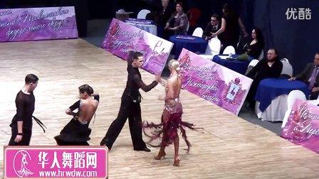 2015年俄罗斯体育舞蹈锦标赛决赛恰恰Лопатин Павел - Лилло Ольга, Ча-ча-ча