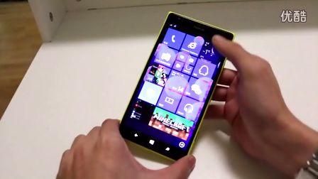 Lumia1520运行Windows10中文上手
