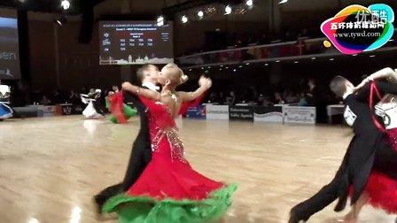 2015年PD欧洲体育舞蹈摩登舞第一轮维也纳华尔兹Rossignoli - Styf