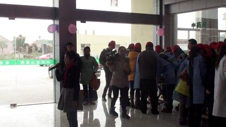 如东县实验小学江海小记者学雷锋日到老人院探望老人