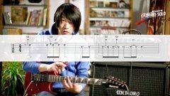 左轮电吉他教程NO.36《黑豹乐队无地自容间奏solo》