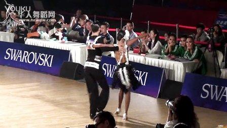 2015年中国体育舞蹈公开赛(武汉站)14岁以下A级S决赛华尔兹【VIP】安邦 张湘雯