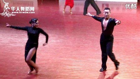 2015年中国体育舞蹈公开赛(上海站)A组L半决赛牛仔孙毅博 许蔷子