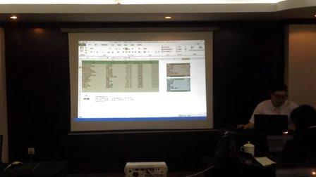 林屹老师讲授《办公达人修炼秘籍:EXCEL高效数据处理》
