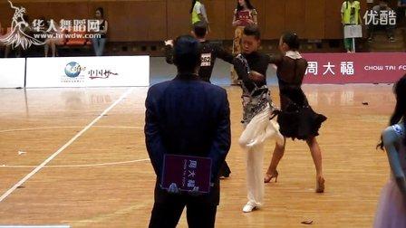2015年CBDF中国杯巡回赛(石家庄站)专业16岁以下组L第一轮伦巴【VIP】吴文昌 颜瑄