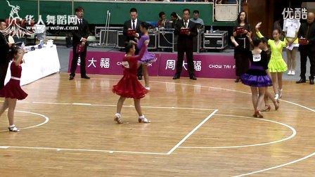 2015年CBDF中国杯巡回赛(石家庄站)业余12岁女单B组L决赛伦巴