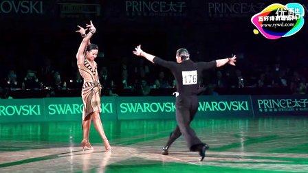 2015年WDSF体育舞蹈公开赛(香港站)缅甸万丰国际老百胜集锦欣赏