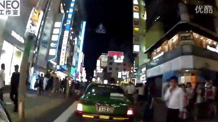 混血美女带你骑机车游东京