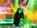 最新美女dj打碟酒吧现场视频12.4-美女打碟手
