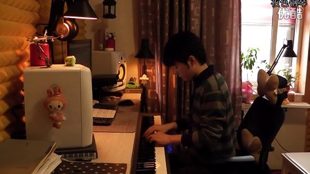 夜色钢琴最新创作《牵手》钢琴曲
