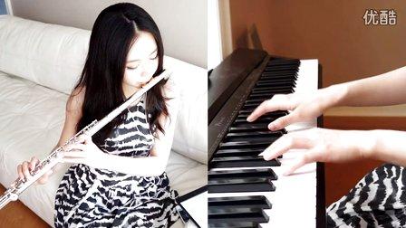 达人秀美女琴笛合奏,好不好你说了算